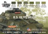 LC-CS11 US Olive Drab (22ml x 6)
